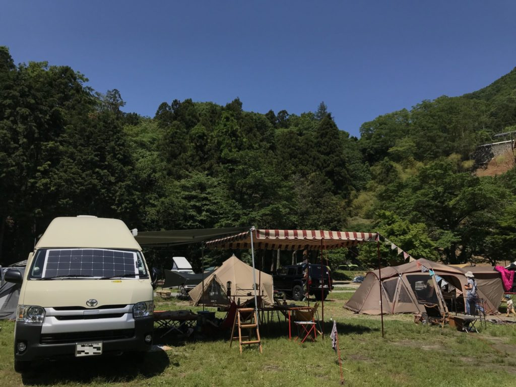 場 青根 キャンプ