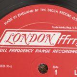 Label Variation…DECCAレコード Vol.2:ロンドンレコード(US/UK LONDON)